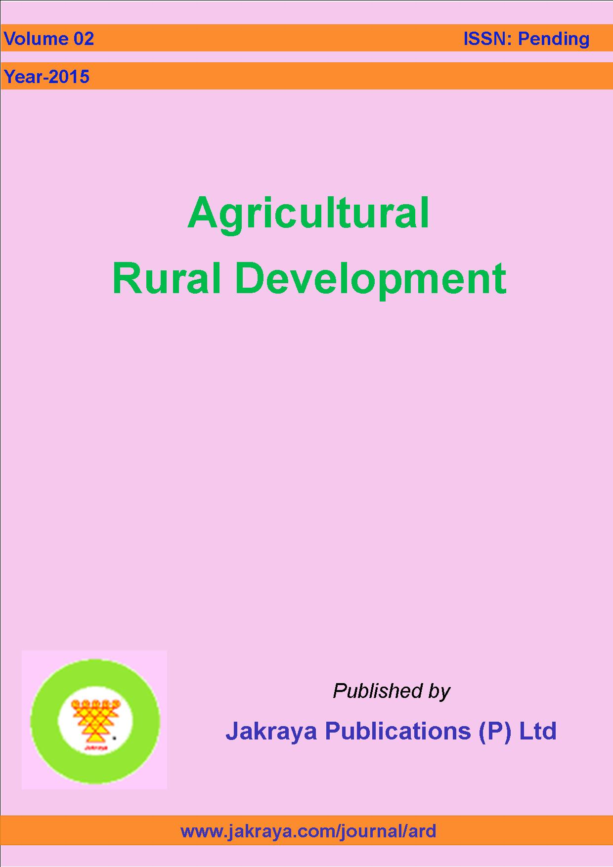 Agricultural Rural Development