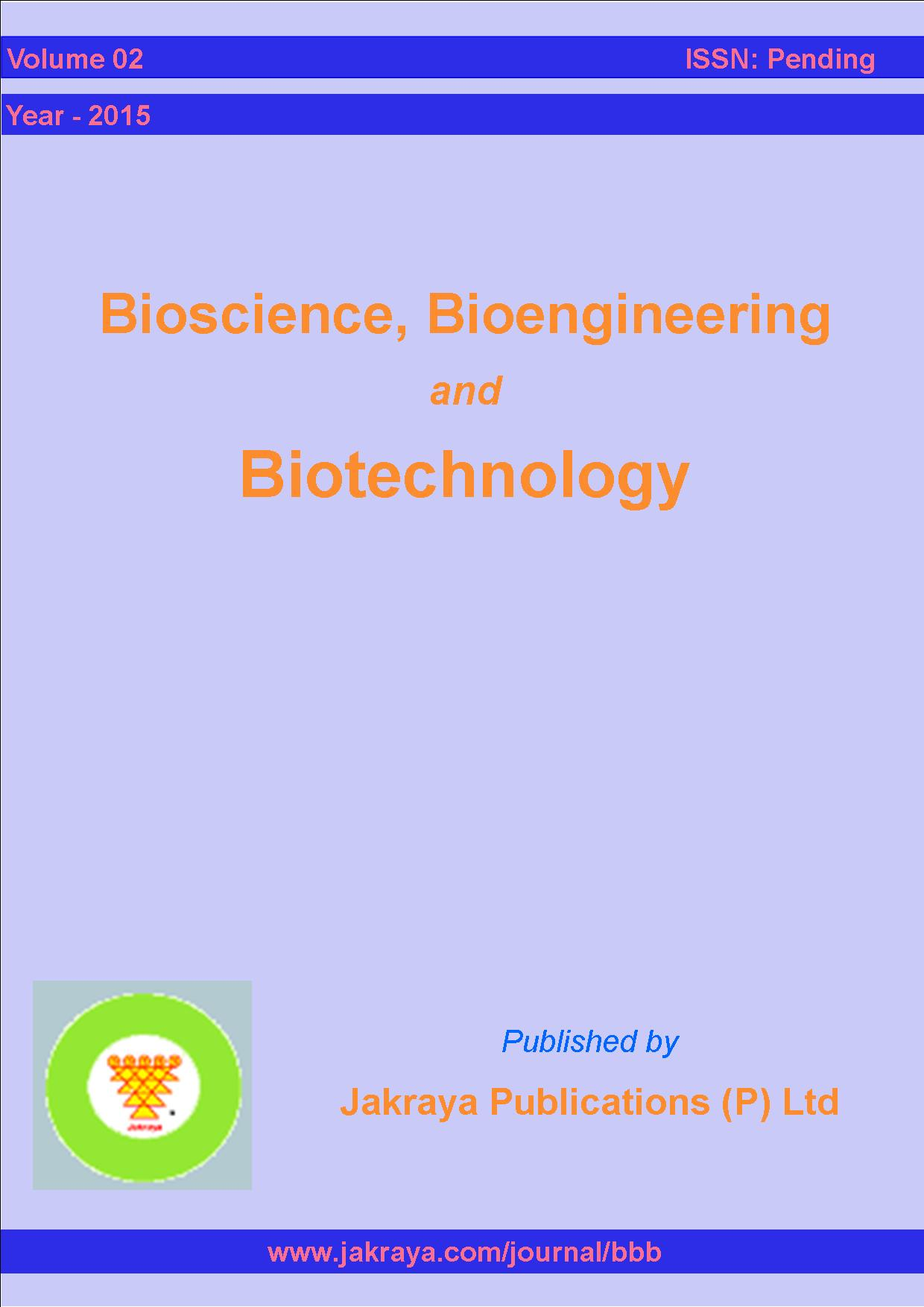 Bioscience,Bioengineering & Biotechnology