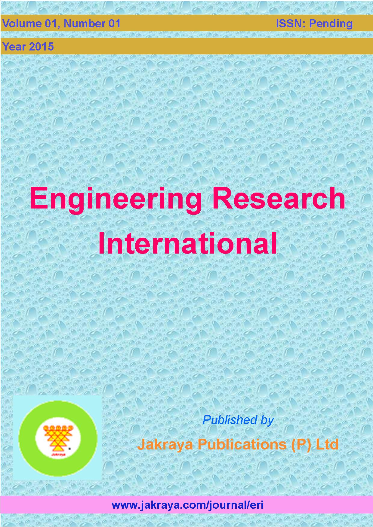 Engineering Research International
