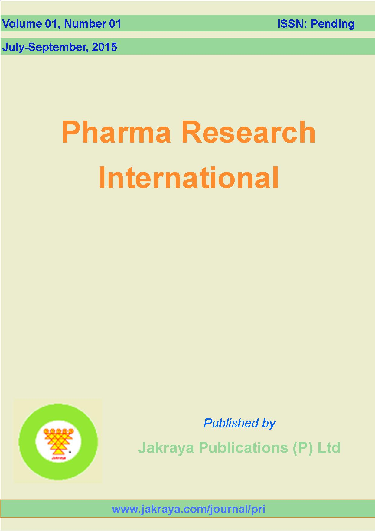 Pharma Research International