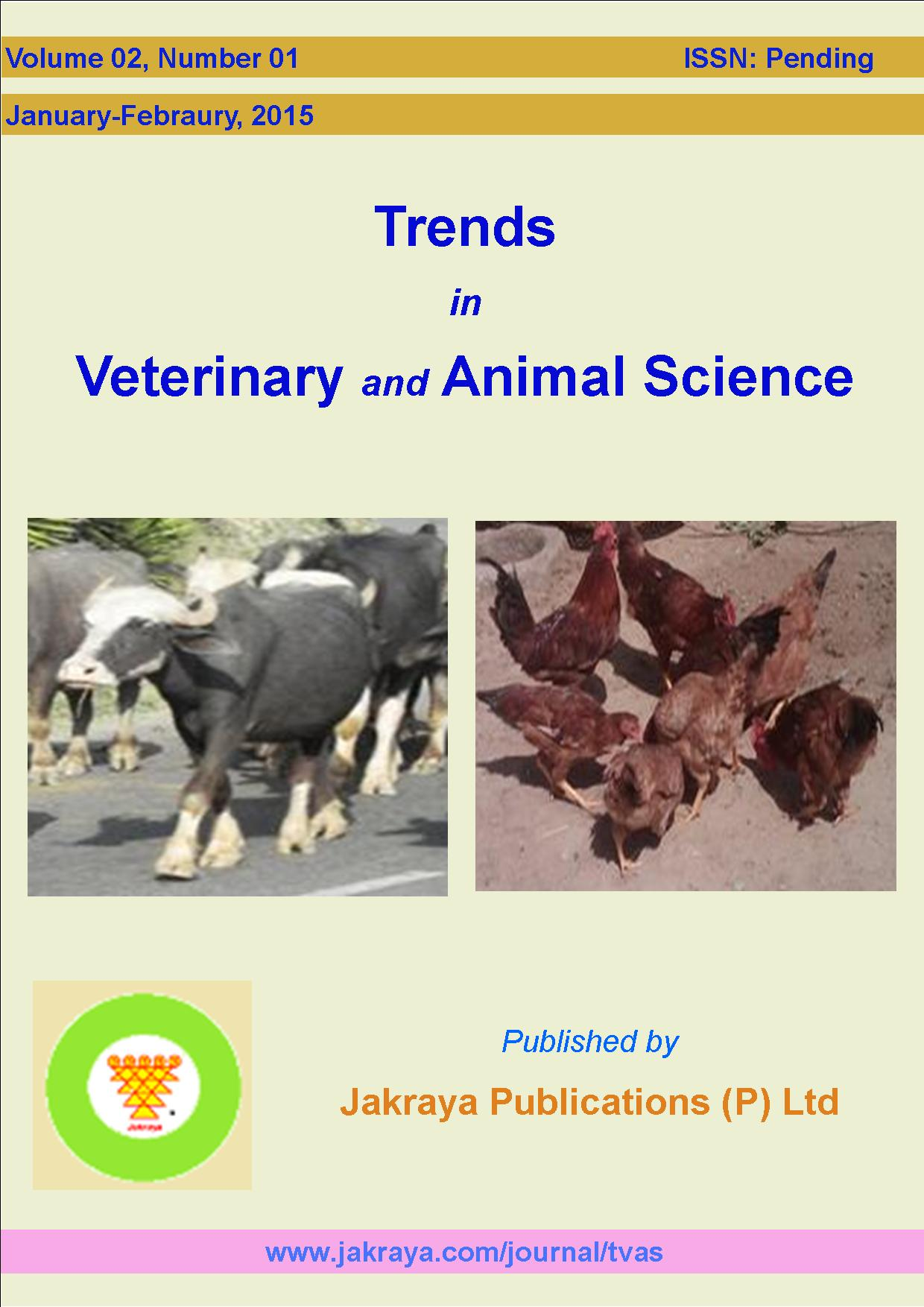Trends in Veterinary and Animal Sciences