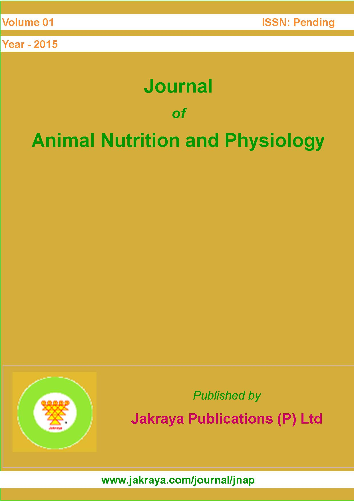 Journal of Animal Nutrition and Physiology